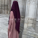 Khimar safiya prune